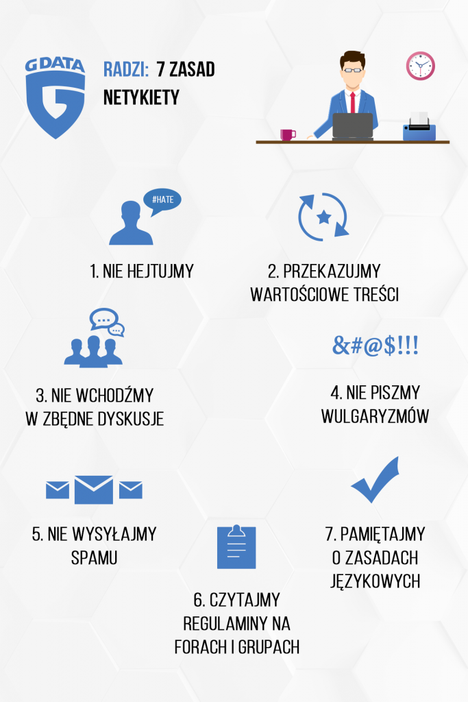 Infografika - NETykieta