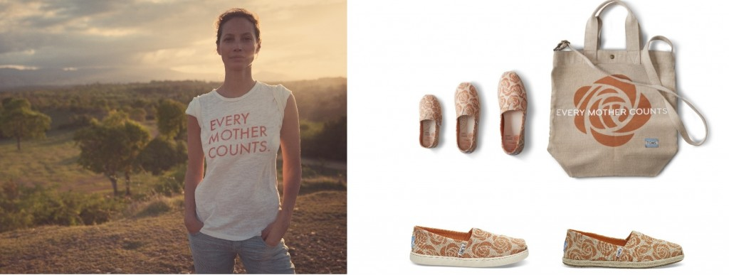 TOMS dla Every Mother Counts