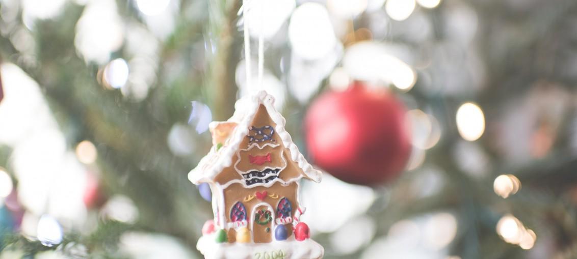 dom błyszczy przed świętami
